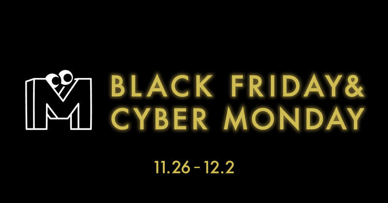 BLACK FRIDAY&CYBER MONDAY 2020