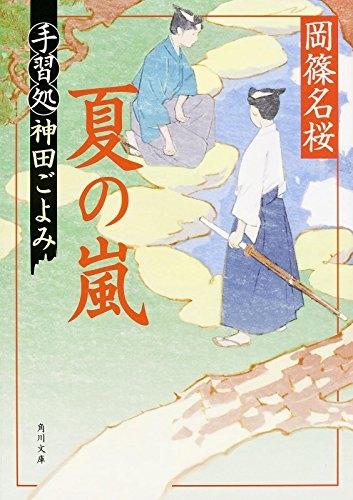 【ライトノベル】夏の嵐 手習処神田ごよみ 漫画