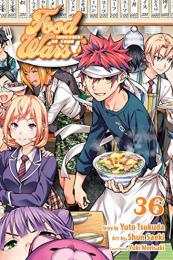 食激のソーマ 英語版 (1-36巻) [Food Wars! Volume 1-36]