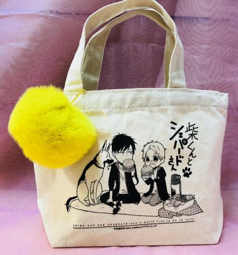 arca comics展 ポンポン付きランチトートバッグ【レモンイエロー】(池森あゆ先生)