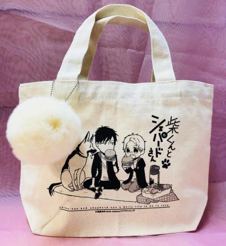 arca comics展 ポンポン付きランチトートバッグ【バニラ】(池森あゆ先生)