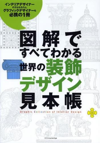 【書籍】図解ですべてわかる 世界の装飾デザイン見本帳 漫画