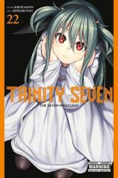トリニティセブン 7人の魔書使い 英語版 (1-22巻+15.5巻) [Trinity Seven:The Seven Magicians Volume 1-22+15.5]