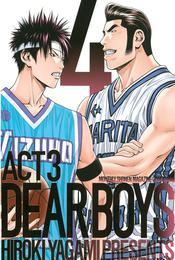 DEAR BOYS ACT 3(4) 漫画