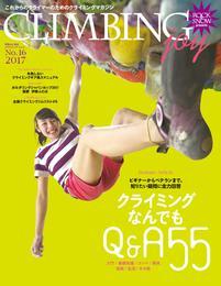 CLIMBING joy 2017  No.16