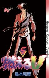 燃えるV 5 冊セット全巻 漫画