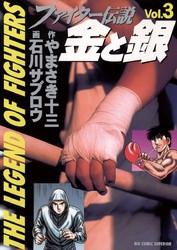 ファイター伝説 金と銀 3 冊セット全巻 漫画