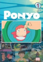 崖の上のポニョ 英語版 (1-4巻) [Ponyo Film Comic Volume1-4]