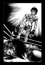 あしたのジョー ジョー&力石 漫画原稿再生叢書