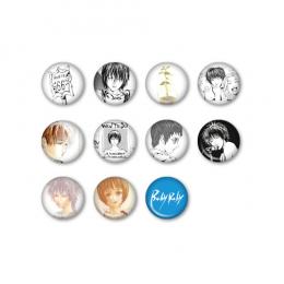 【グッズ】缶バッジ3個セット:全11種〈『Baby Baby』発売記念SHOP at 渋谷虜〉