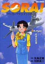 SORA!フライト・アテンダント物語 5 冊セット全巻 漫画