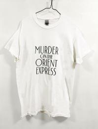 Tシャツ オリエント急行の殺人(100th) 白 M 【予約:ご注文から10日程度で発送予定】