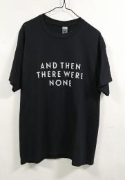Tシャツ そして誰もいなくなった(100th) 黒 S 【予約:ご注文から10日程度で発送予定】