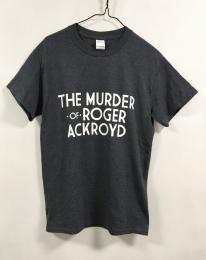 Tシャツ アクロイド殺し(100th) ヘザーネイビー S 【予約:ご注文から10日程度で発送予定】