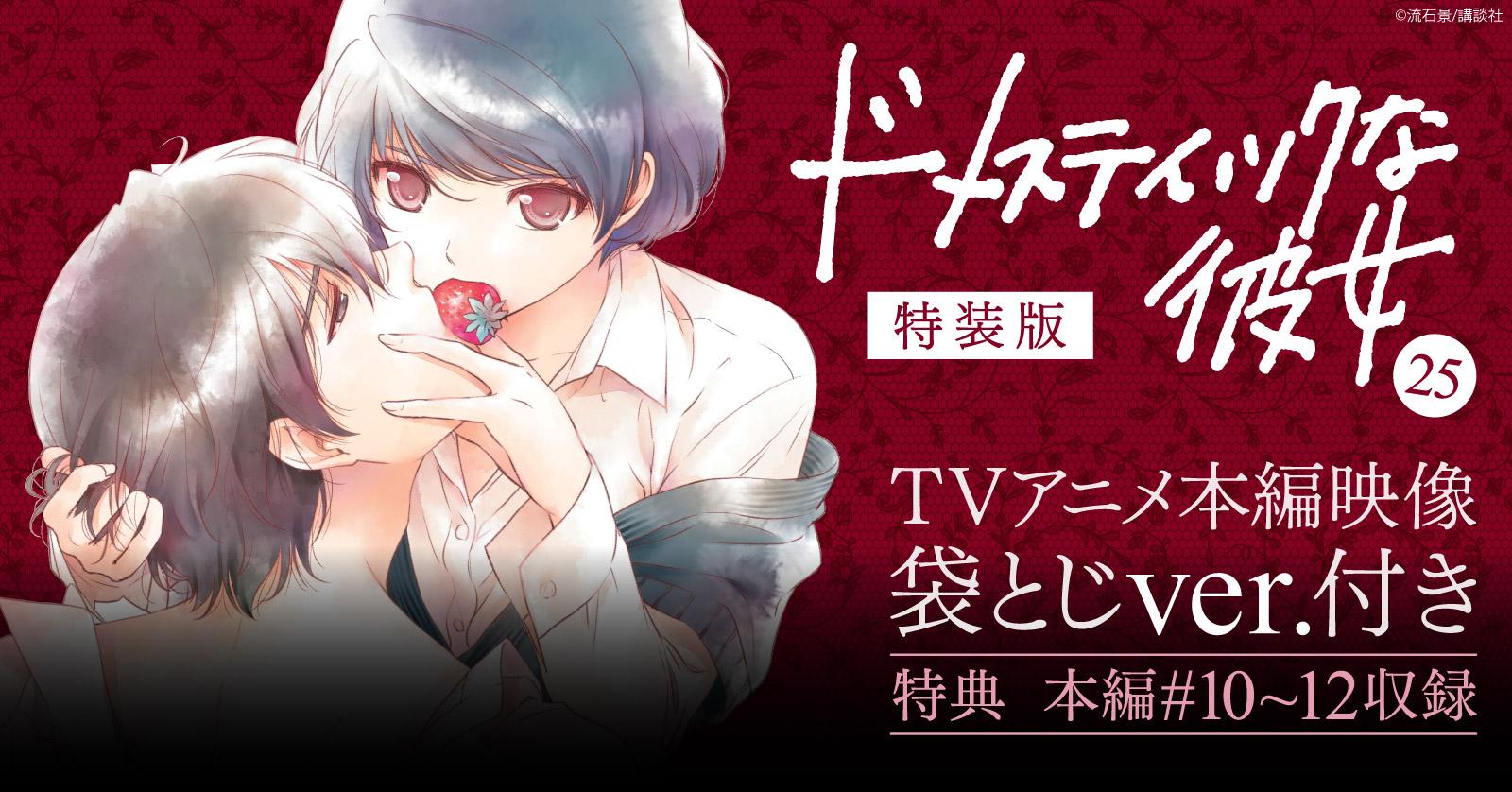 ドメスティックな彼女 特装版 TVアニメ本編映像袋とじVer.付き