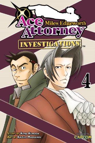 逆転検事 英語版 4巻