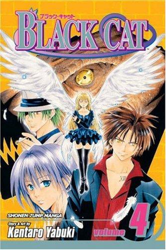 BLACK CAT ブラックキャット 英語版 4巻