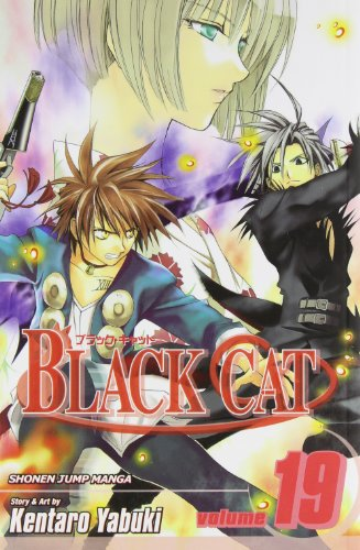 BLACK CAT ブラックキャット 英語版 19巻