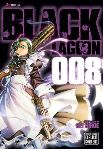 ブラック・ラグーン BLACK LAGOON 英語版 8巻