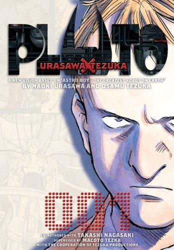 PLUTO プルートゥ 英語版 1巻