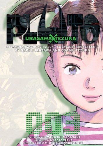 PLUTO プルートゥ 英語版 3巻