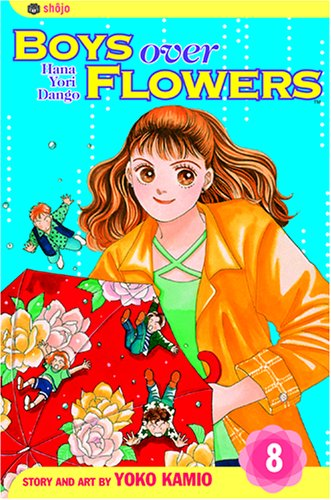 花より男子 英語版 8巻