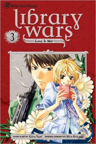 図書館戦争 LOVE&WAR 英語版 3巻