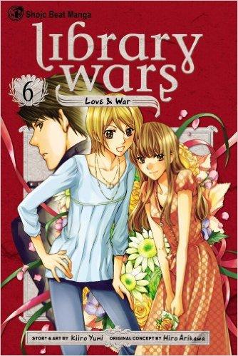図書館戦争 LOVE&WAR 英語版 6巻