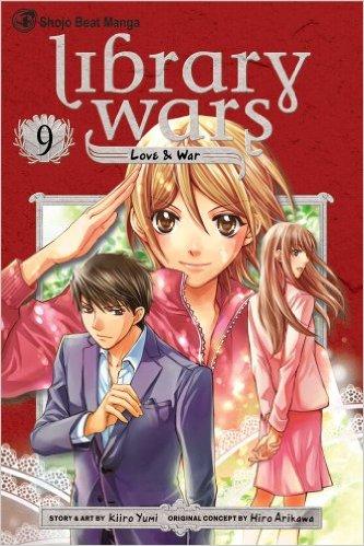 図書館戦争 LOVE&WAR 英語版 9巻
