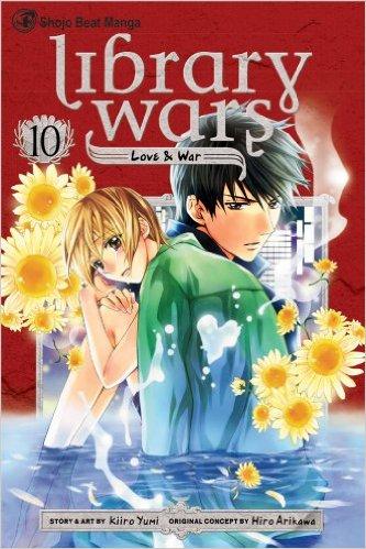 図書館戦争 LOVE&WAR 英語版 10巻