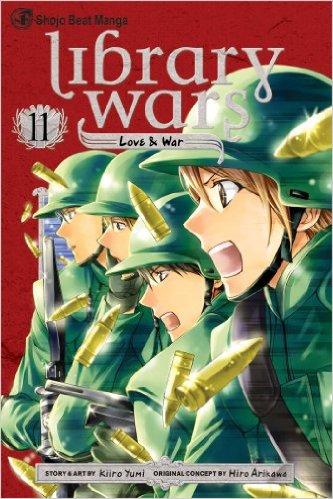 図書館戦争 LOVE&WAR 英語版 11巻