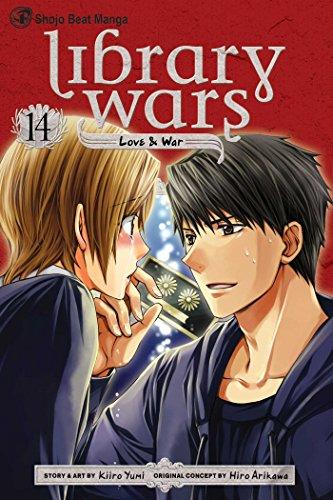 図書館戦争 LOVE&WAR 英語版 14巻