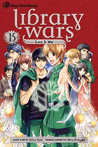 図書館戦争 LOVE&WAR 英語版 15巻