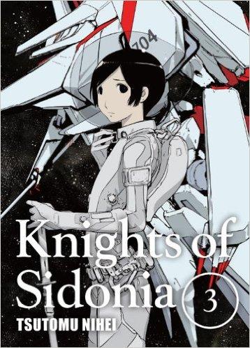 シドニアの騎士 英語版 3巻