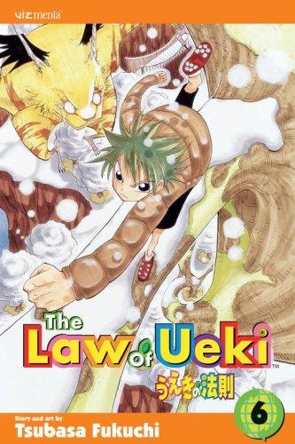 うえきの法則 英語版 6巻