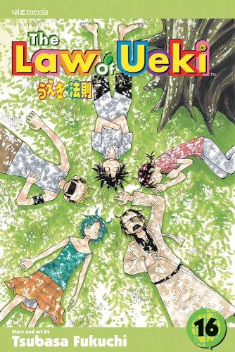 うえきの法則 英語版 16巻