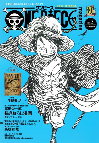 ONE PIECE magazine 3巻